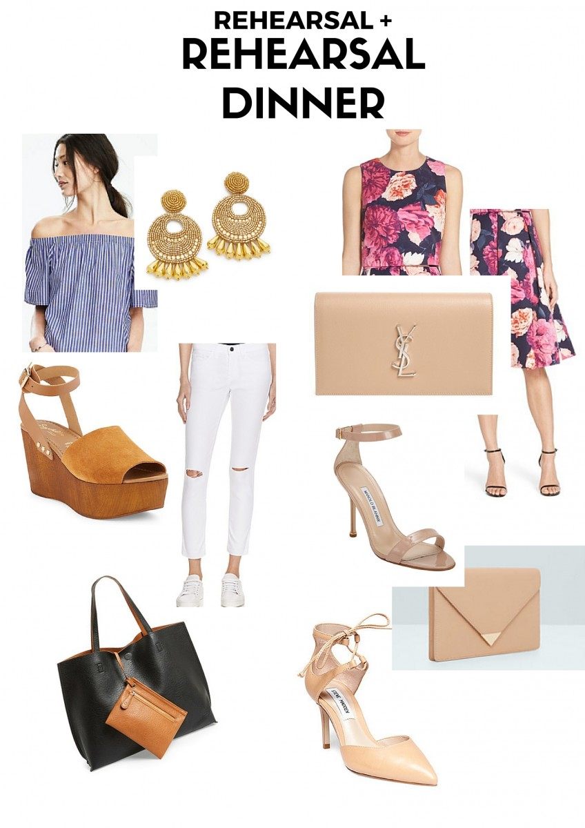 What's In My Suitcase for a Summer Wedding