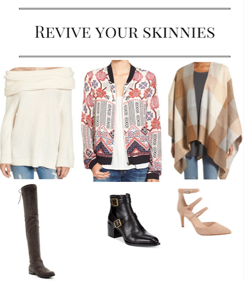 Give Your Skinny Jeans New Life This Season