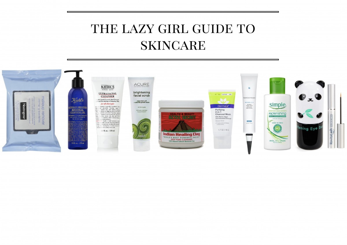The Lazy Girl Guide to Skincare