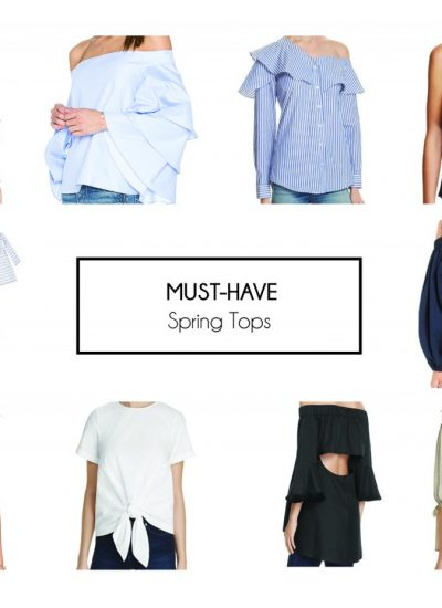 10 Must-Have Tops for Spring