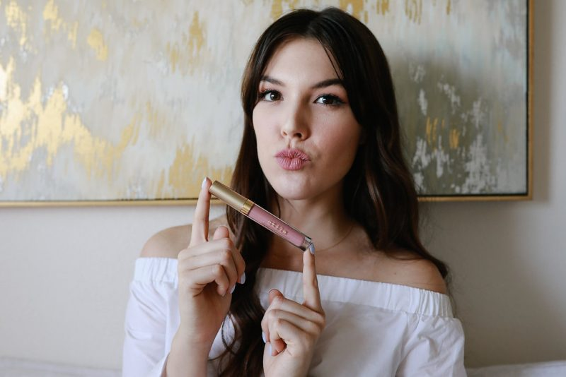 Favorite Nude Lipsticks/Never Without Lipstick/nude lipstick, neutral lips, nude lips, anastasia beverly hills pure hollywood, charlotte tilbury penelope pink, stila lip stain in baci, makeup tutorial, kylie lip kit, lipstick how-to, lipstick tutorial