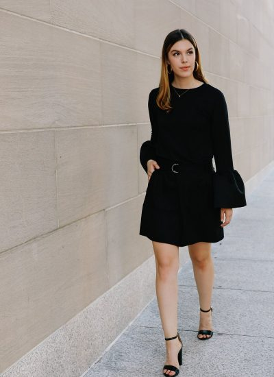 Monochromatic Workwear: How to Wear All Black to the Office