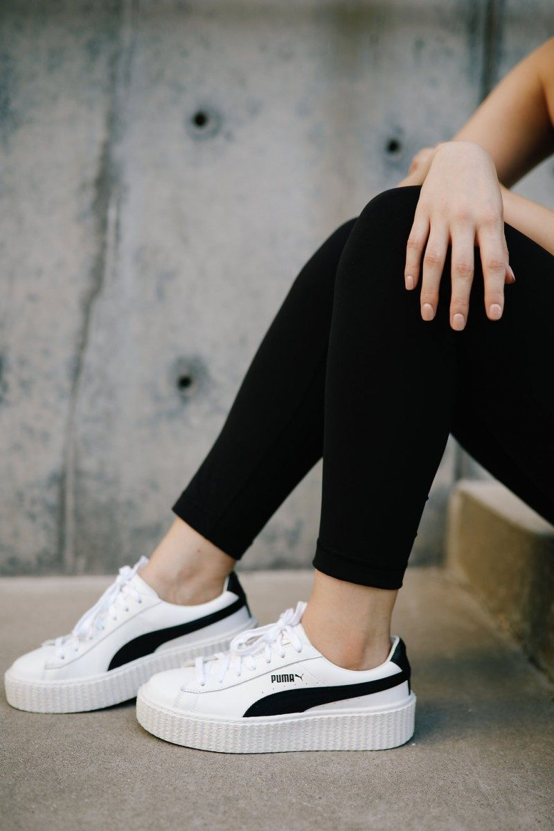 Lifestyle blogger Ashley Deatherage of Never Without Lipstick shares her 5 tips for kickstarting your fitness and diet plan | fitness planning, workout planing, activewear, workout outfit chic, cute workout outfit, athleisure outfit, diet planning, fitness plan for women, fitness plan for beginners, weekly diet plan, weekly fitness plan, puma creepers