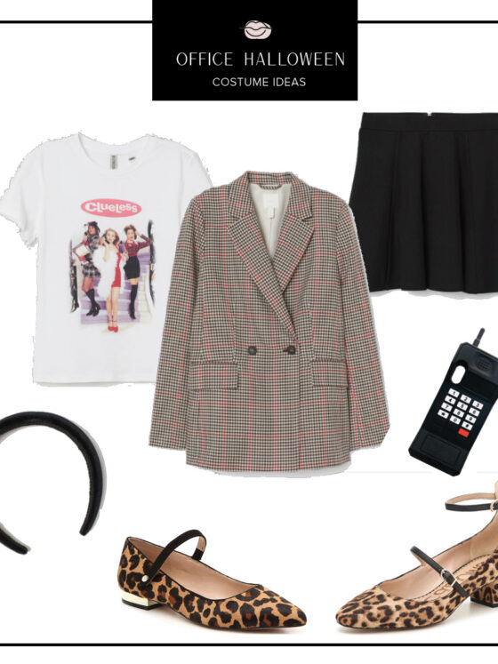 office halloween costumes ideas, easy halloween costumes, quick halloween costumes, work halloween costumes, easy clueless costume, blair waldorf costume