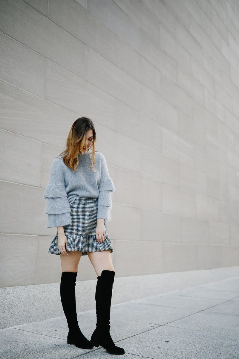 Style blogger Ashley of Never Without Lipstick shares her favorite pairs of boots | over the knee boots, boots fall, boots outfit, sam edelman boots, marc fisher booties, boots fall 2017, booties 2017 outfits, casual outfits, fall outfits