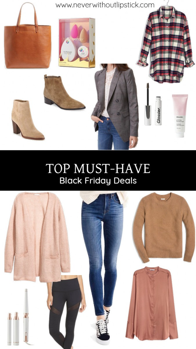 Style blogger Ashley of Never Without Lipstick shares her top 20 must-have Black Friday deals for Black Friday 2017 | black friday shopping, black friday tips, black friday must-have deals, black friday clothes