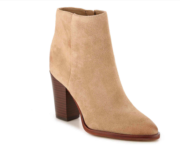 Style blogger Ashley of Never Without Lipstick shares her favorite pairs of boots   over the knee boots, boots fall, boots outfit, sam edelman boots, marc fisher booties, boots fall 2017, booties 2017 outfits, casual outfits, fall outfits   Cute Boots and Booties featured by top US fashion blog, Never Without Lipstick: image of Sam Edelman Blake booties