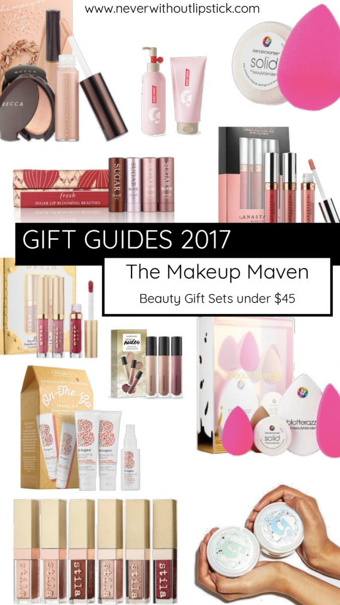 Style blogger Ashley Lane of Never Without Lipstick shares beauty gift sets under $45 that would make winning gifts for the makeup lovers on your list | beauty gift sets, gift guide, christmas gift ideas, gifts for her, best beauty gift sets, beauty gifts, beauty gift basket ideas | Sephora | Best Beauty Gift Sets under $45 featured by top Dallas beauty blog Never Without Lipstick