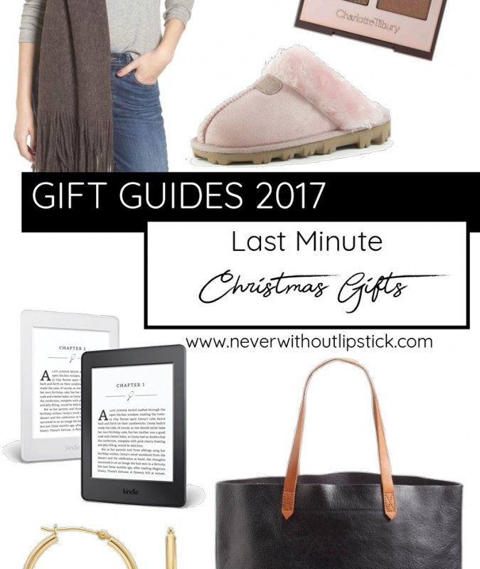 Last Minute Christmas Gift Ideas for You or Anyone on Your List