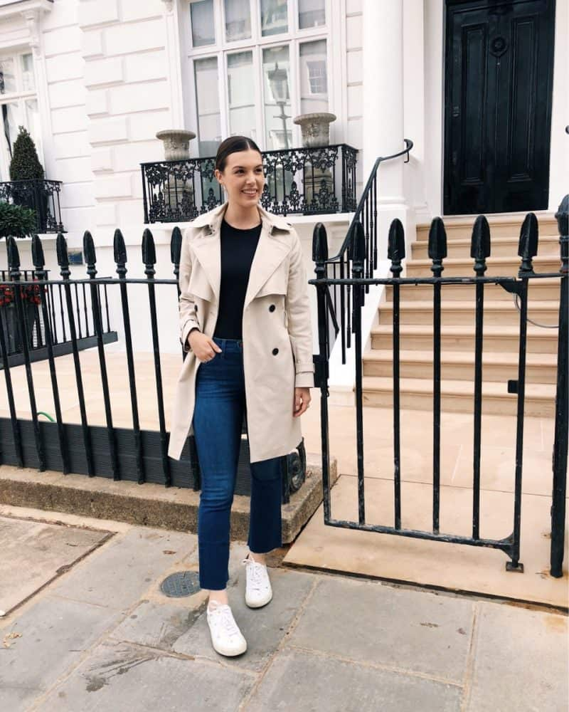 travel outfit, london outfit, casual london outfit, touring outfit, fall outfit   London and Ireland Itinerary featured by popular Dallas travel blogger, Never Without Lipstick
