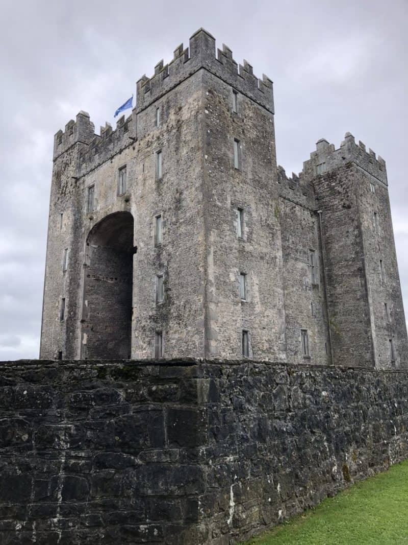 | London and Ireland Itinerary featured by popular Dallas travel blogger, Never Without Lipstick: Bunratty Castle