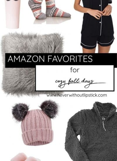 20 Cozy Amazon Favorites under $40 for Fall