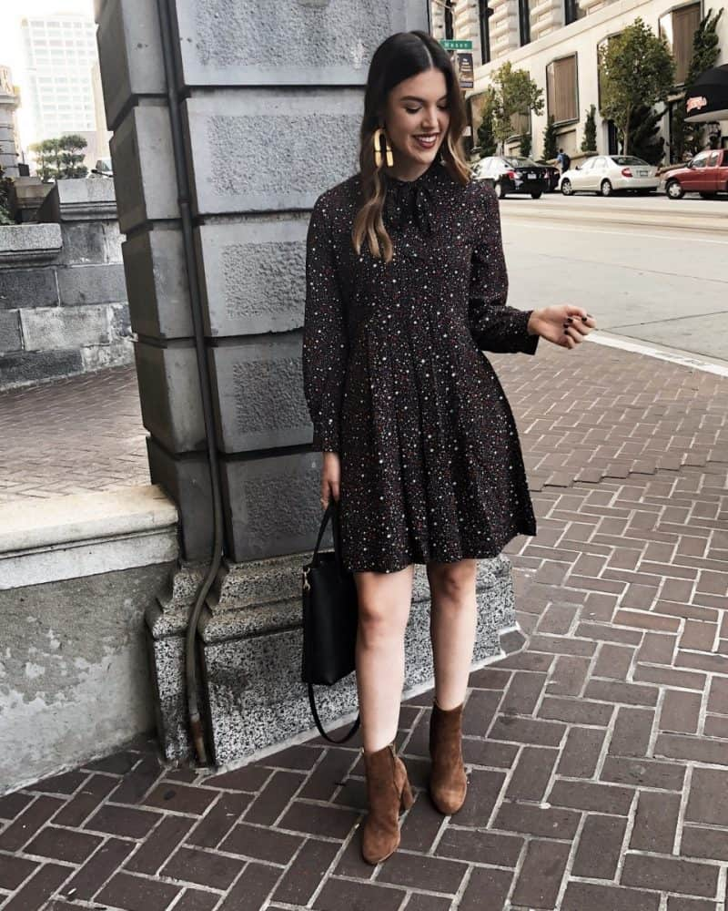 Popular travel blogger, Never Without Lipstick, shares her list of the best things to do in San Francisco | fall dress outfit, fall outfit idea, dress with booties, madewell dress, san francisco itinerary | Best Things to Do in San Francisco over a 4 Day Weekend featured by top Dallas travel blog, Never Without Lipstick