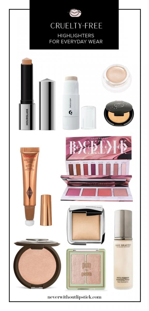 cruelty free makeup, cruelty free highlighters, highlighter makeup how to apply, cream highlighter, becca highlighter | Top 10 Cruelty Free Highlighters featured by top US beauty blog, Never Without Lipstick
