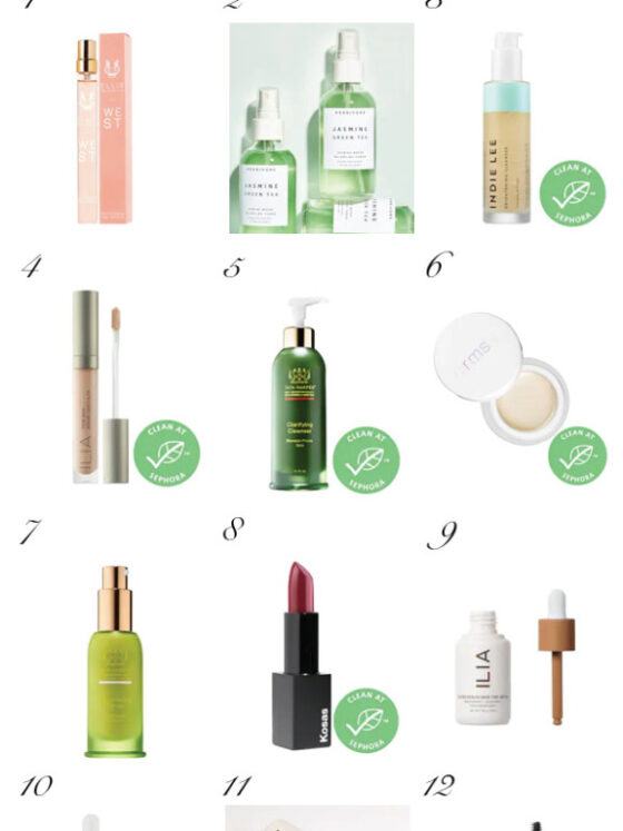 Sephora Favorites: 12 Best Clean Beauty Buys from the Latest Sephora Sale featured by top Dallas beauty blog, Never Without Lipstick